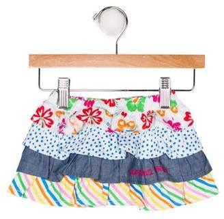 Agatha Ruiz De La Prada Girls' Printed Ruffle Skirt