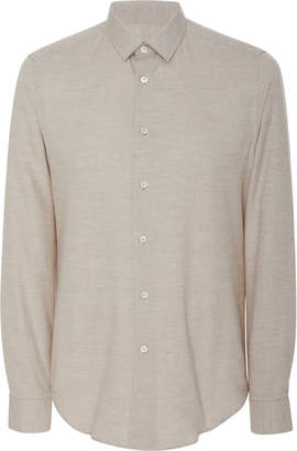 Fioroni Slim-Fit Cotton And Cashmere-Blend Shirt