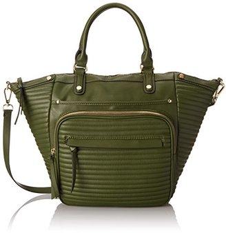 Steve Madden Bravenn Tote Satchel Bag $98 thestylecure.com