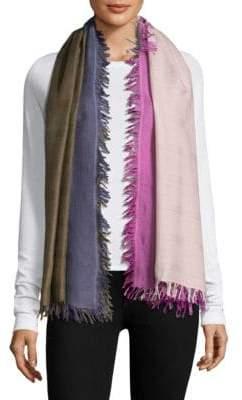 Bajra Checkerboard Wool& Silk Scarf