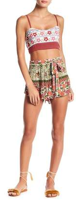 Raga Enchanted Forest Belted Shorts
