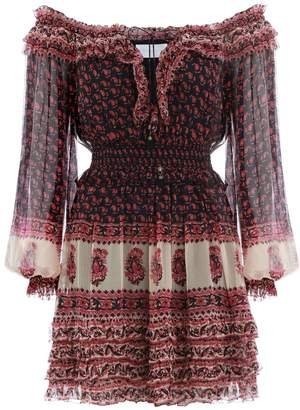 Zimmermann Jaya Stamp Frill Dress