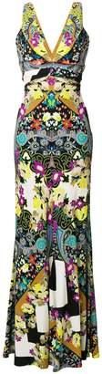 Etro printed sleeveless maxi dress
