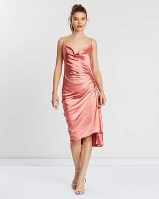 fde8a798e777 Atmos   Here ICONIC EXCLUSIVE - Marcella Cowl Slip Dress