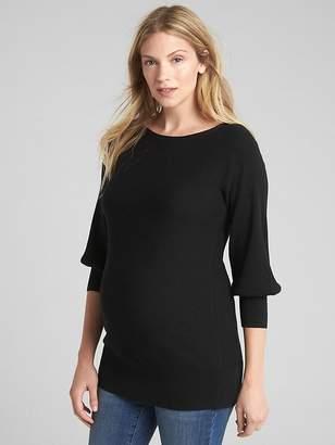 Gap Maternity Ribbed Boatneck Sweater Tunic