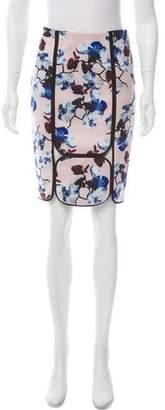 Yigal Azrouel Floral Print Knee-Length Skirt