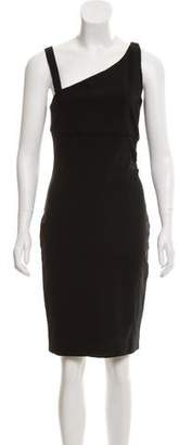 Diane von Furstenberg Asymmetric Bodycon Dress