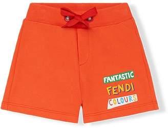 Fendi printed casual shorts