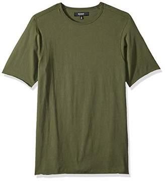 Hudson Jeans Men's Elongated Short Sleeve T-Shirt