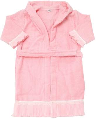 La Perla Hooded Cotton Terrycloth Bathrobe
