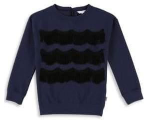 Little Marc Jacobs Girl Fringe Sweater