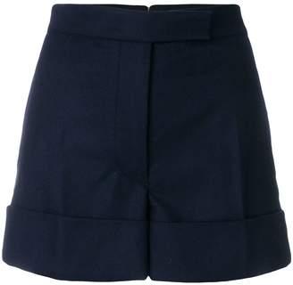 Thom Browne Flannel Backstrip Mini Short