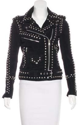 Understated Leather 2018 Studded Easy Rider Jacket