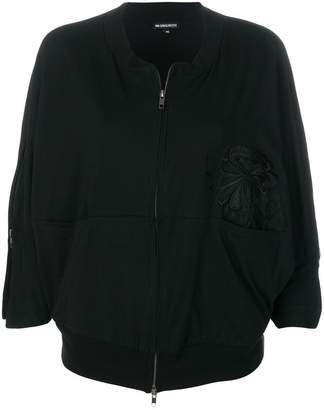 Ann Demeulemeester embroidered zip-up