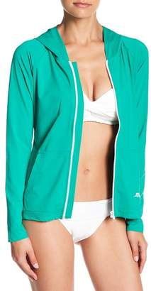 Tommy Bahama Pearl Hooded Long Sleeve Rashguard