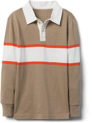 Crazy 8 Crazy8 Stripe Rugby Shirt