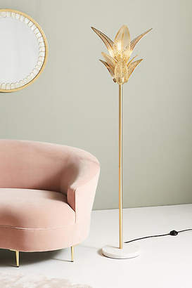 Anthropologie Palm Frond Floor Lamp