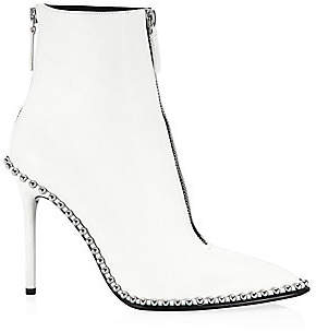 Alexander Wang Women's Eri Studded Leather Ankle Boots