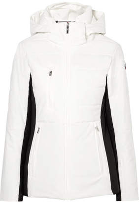 Fusalp - Christina Quilted Hooded Ski Jacket - White