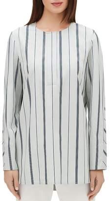 Lafayette 148 New York Tilly Stripe Tunic Blouse
