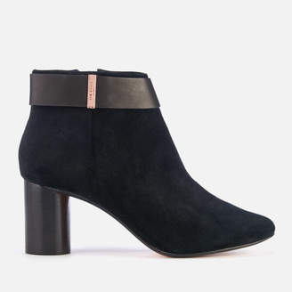 Ted Baker Women's Mharia Suede Heeled Ankle Boots