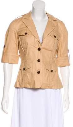 Diane von Furstenberg Casual Short Sleeve Jacket