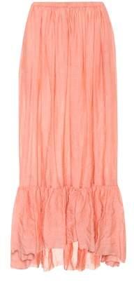 Lisa Marie Fernandez Nicole cotton-blend skirt