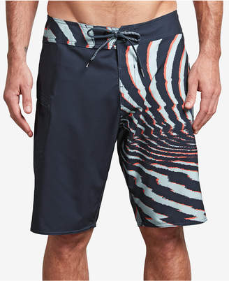 Volcom Men's Lido Athletic-Fit Colorblocked Logo-Print Boardshorts
