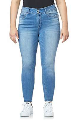 WallFlower Junior's Plus Size InstaStretch Luscious Curvy Skinny Jeans