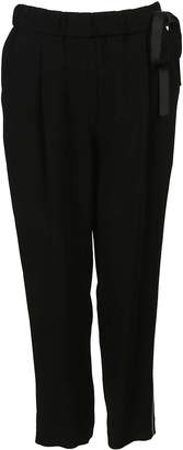 Brunello Cucinelli Elasticated Side Band Trousers