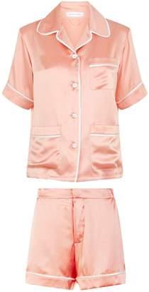 Olivia Von Halle Millicent Short Sleeve Pyjama Set