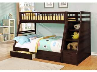 LOFT Viv + Rae Pierre Twin over Full Bunk Bed with Storage