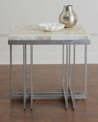... Hooker Furniture Thiago Onyx Top Side Table