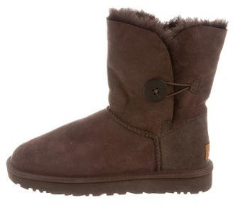UGG Australia Bailey Button II Ankle Boots $95 thestylecure.com