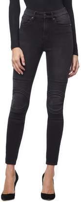 Good American Good Waist Corded High Waist Skinny Jeans
