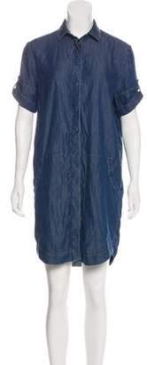 AllSaints Denim Knee-Length Dress