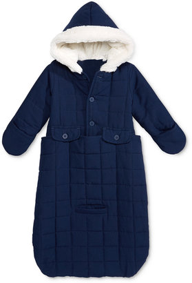 First Impressions Baby Boys' or Baby Girls' Jacket Snowbag with Faux Fur Trim, Only at Macy's $70 thestylecure.com