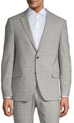 Tommy Hilfiger Slim-Fit Check Suit Jacket