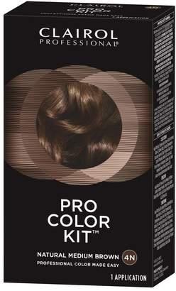 Clairol Pro Color Kit Natural Medium Brown 4N