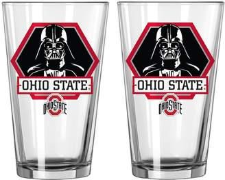 Boelter Ohio State Buckeyes Star Wars Darth Vader 2-Pack Pint Glasses