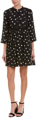 Romeo & Juliet Couture Printed A-Line Dress