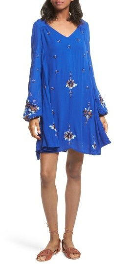 Women's Free People Embroidered Minidress
