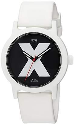 Vestal 'Alpha Bravo 10 ATM' Quartz Plastic Casual Watch