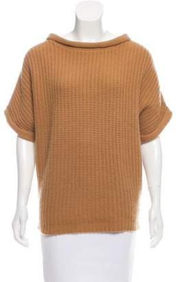 Calypso Short Sleeve Cashmere Sweater