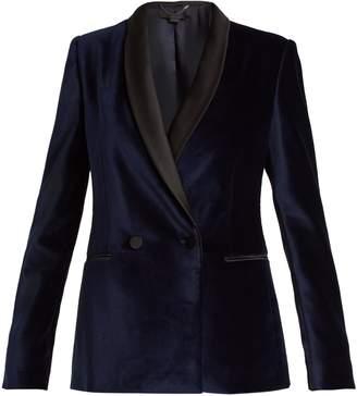 Stella McCartney Double-breasted velvet jacket