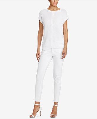 Lauren Ralph Lauren Cap-Sleeve Sweater $89.50 thestylecure.com