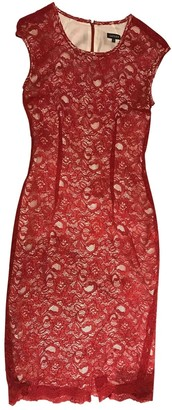 Jaeger Red Lace Dress for Women