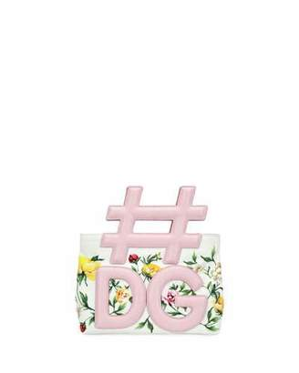 Dolce & Gabbana Instabag Small Canvas and Iguana Tote Bag