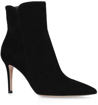 Gianvito Rossi Suede Levy Boots 85