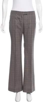Stella McCartney Mid-Rise Wool-Blend Pants